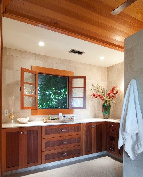 Master bathroom with neutral shades